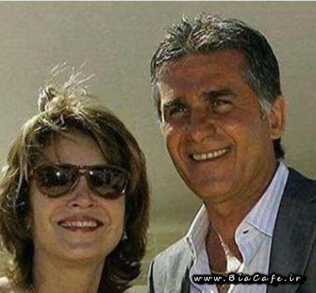 عکس همسر کارلوس کی روش