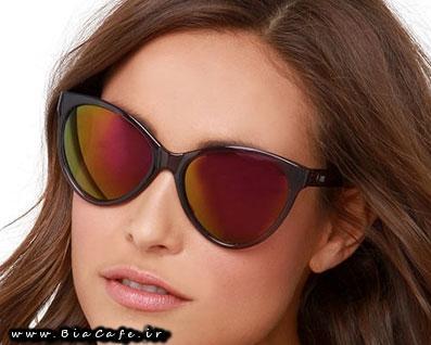 عینک دودی زنانه 2015 1394