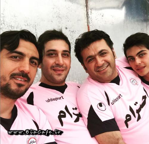 عکس جدید شهرام عبدلی تیر 94