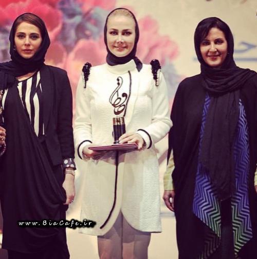 فاطمه گودرزی در جشن حافظ