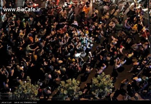 شادی مردم تهران پس از توافق هسته ای