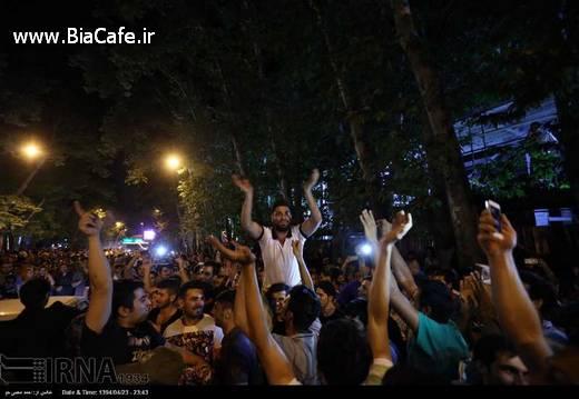 شادمانی تهرانی ها بعد از مذاکرات هسته ای