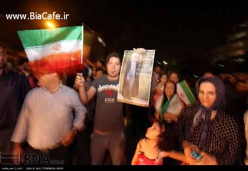 خیابان های مشهد دیشب تیر 94