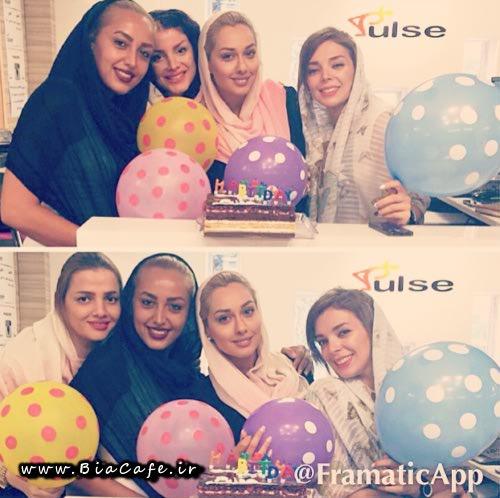 جشن تولد صدف طاهریان