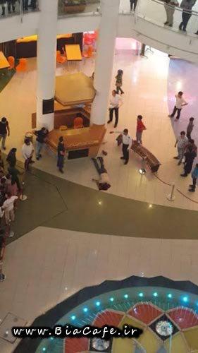 فیلم خودکشی در الماس مشهد