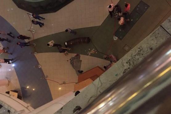 کلیپ خودکشی در الماس مشهد