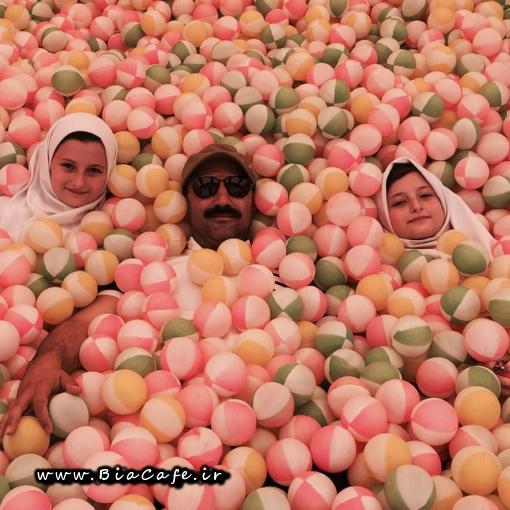 عکس جدید سارا و نیکا فرقانی اصل در تیر 94