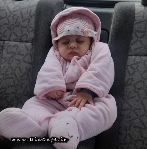 عکس دختر بچه سریال دردسرهای عظیم