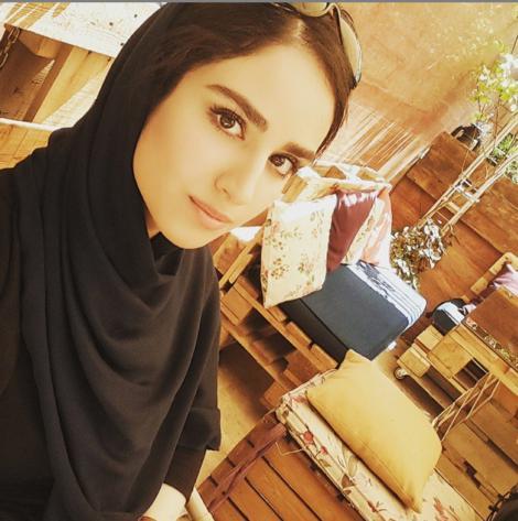 عکس جدید هانیه غلامی تیر 94