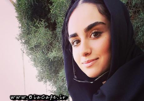 عکس هانیه غلامی در سریال