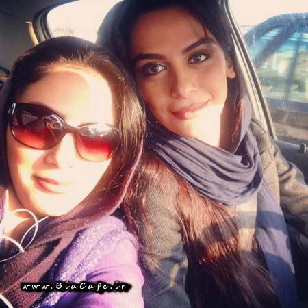 عکس مونا فرجاد و خواهرش مارال فرجاد