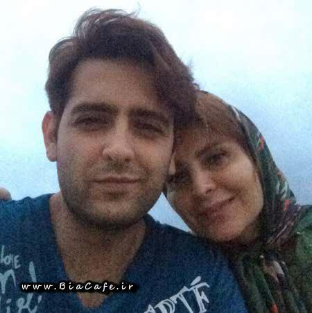 عکس امیرحسین آرمان با مادرش