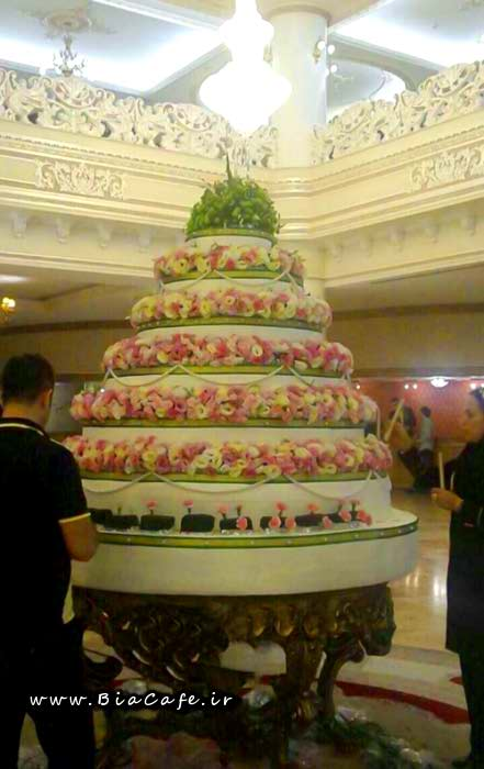 تصویر کیک جشن تولد امام رضا