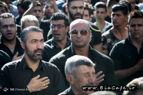 مراسم تشییع جنازه بیت الله عباسپور 5 شهریور