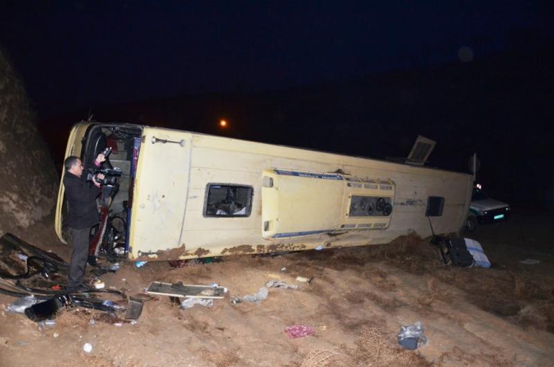 واژگونی اتوبوس زائران ایرانی در نجف