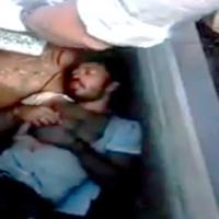 نجات مردی زنده که شش روز داخل قبر دفن شده بود + عکس