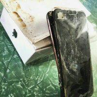 این بار آیفون ۷ منفجر شد+ عکس