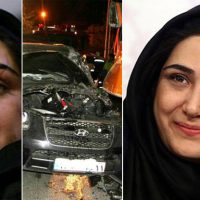 عکس چهره بازیگری که تصادف وحشتناک داشته است/یادگاری تصادف وحشتناک روی چهره سوپراستار زن سینمای ایران +عکس