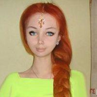 دختری شبیه عروسک+عکس/عکس دختری که شبیه عروسک است