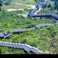 طولانی ترین پله برقی جهان راه اندازی شد+عکس/تصاویر طولانی ترین پله برقی جهان در چین را ببینید