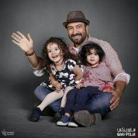 مجید صالحی و دوقلوهایش در برنامه خندوانه+عکس