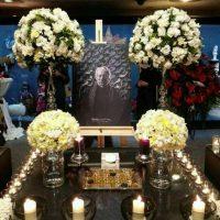 مراسم یادبود چهلیمین روز درگذشت داوود رشیدی+عکس