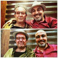 شوخی رضا عطاران با آقای مهرجویی+عکس